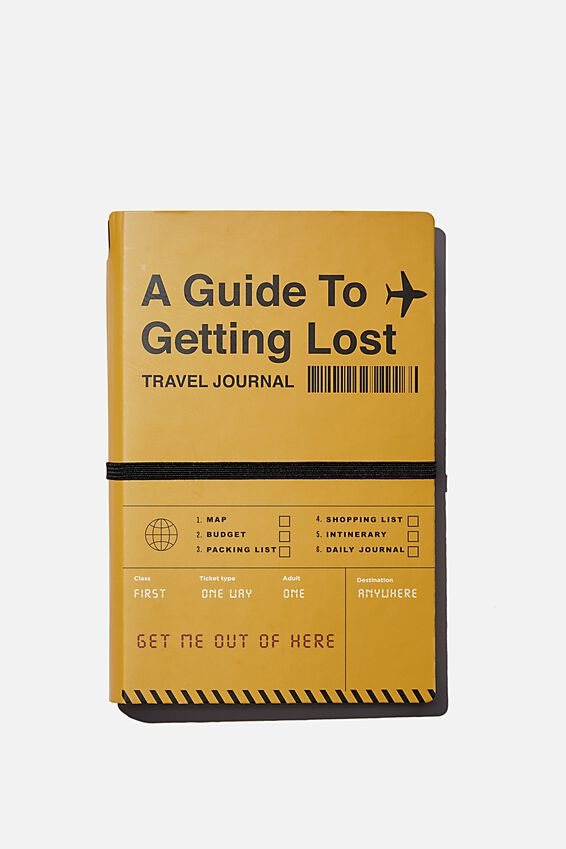 Ultimate Travellers Journal, MUSTARD A GUIDE TO