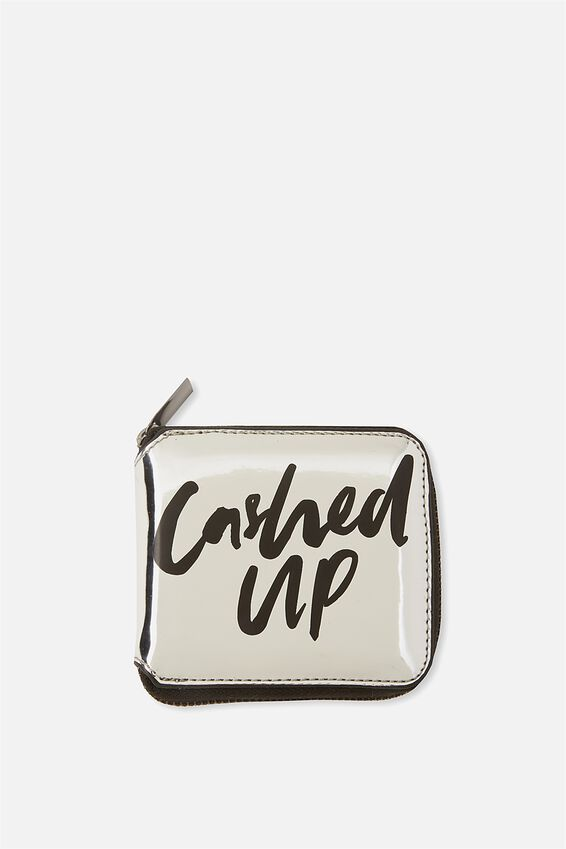Everyday Wallet, SILVER QUOTE