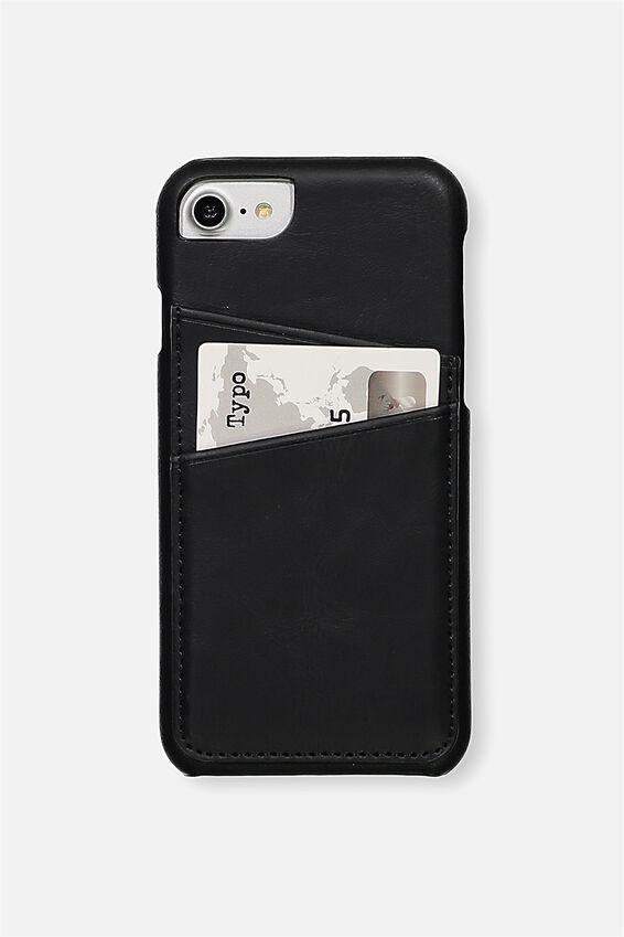 The Phone Cardholder SE, 6,7,8, BLACK