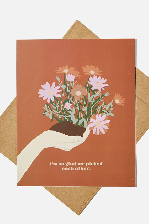 Love Card, PICKED EACH OTHER FLOWER