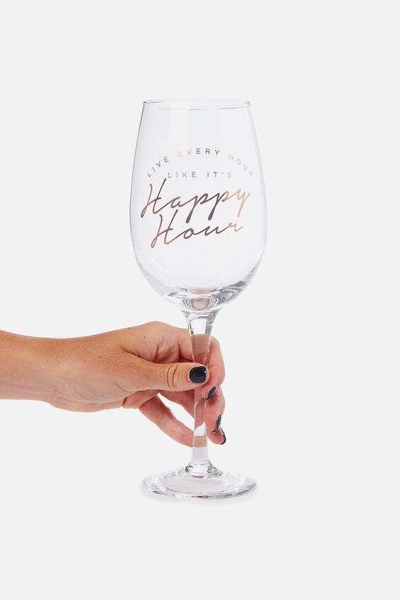 Mega Wine Glass, HAPPY HOUR!