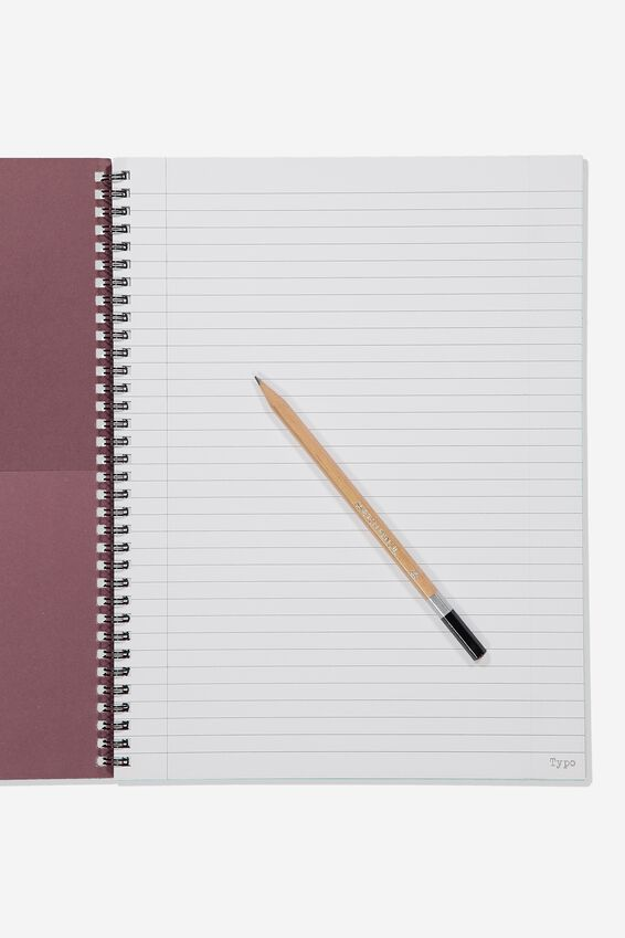 A4 Harry Potter Spinout Notebook - 120 Pages, LCN WB HP GRYFFINDOR