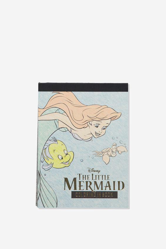 Disney Post Card Colouring Book, LCN DIS THE LITTLE MERMAID