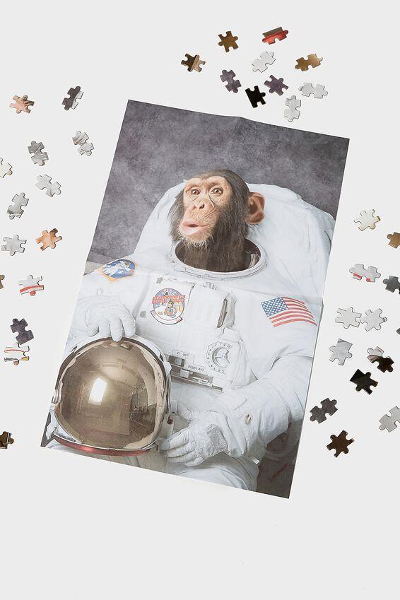1000 Piece Puzzle, CHIMP ASTRONAUT