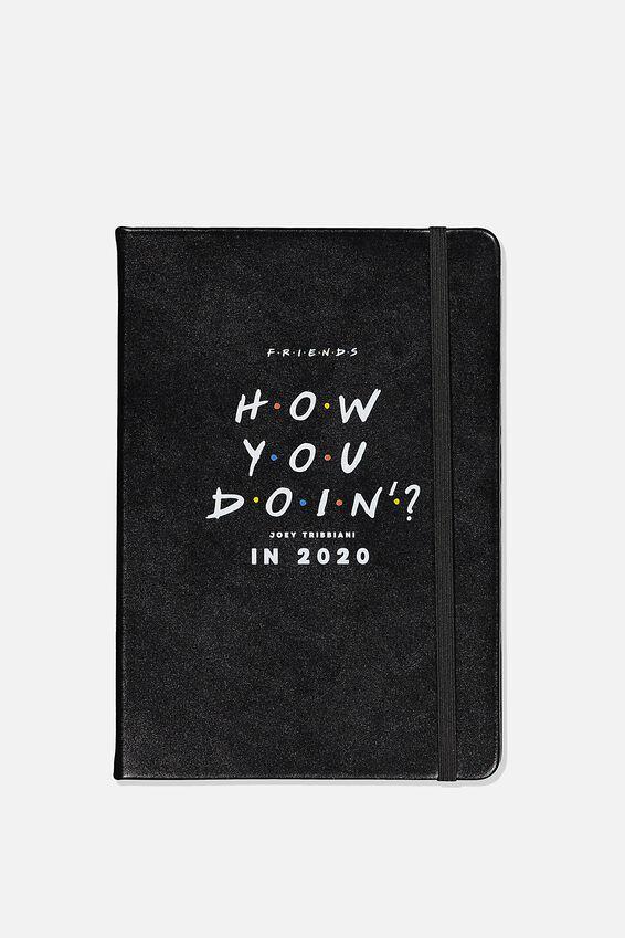 2020 A5 Friends Daily Buffalo Diary, LCN WB FRI FRIENDS
