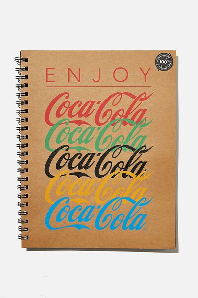 A4 Campus Notebook Recycled, LCN COK ENJOY