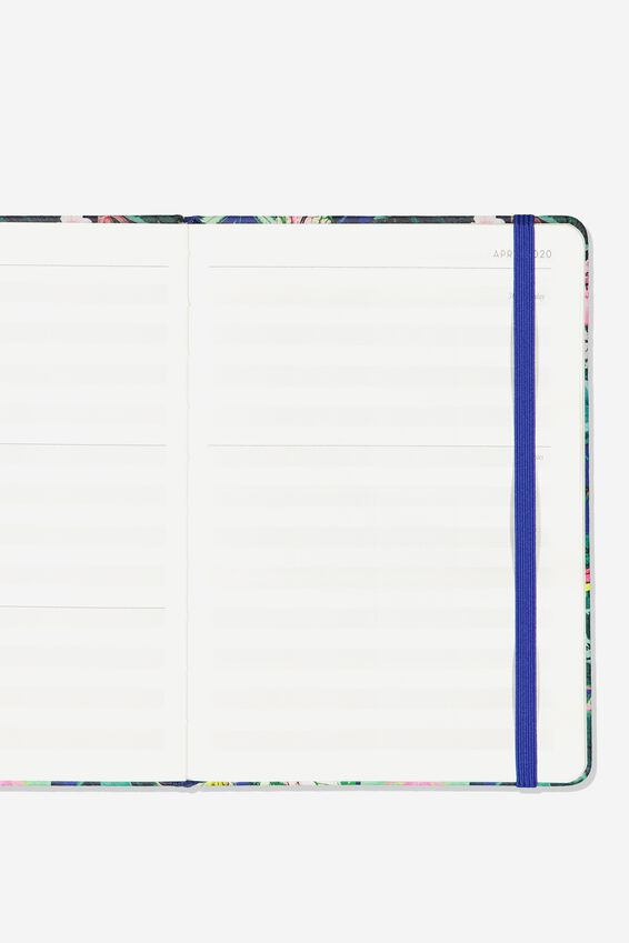 2020 A5 Weekly Buffalo Diary, RESORT FLORAL