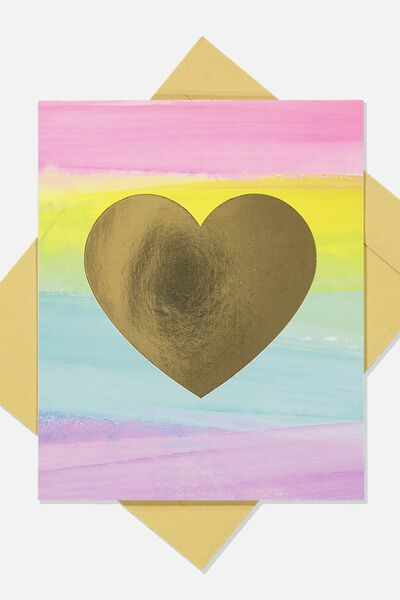 Love Card, RAINBOW LOVE