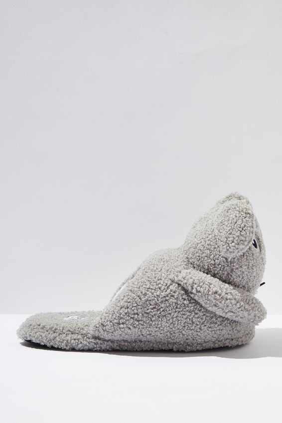 Novelty Slippers, FURRY KOALA
