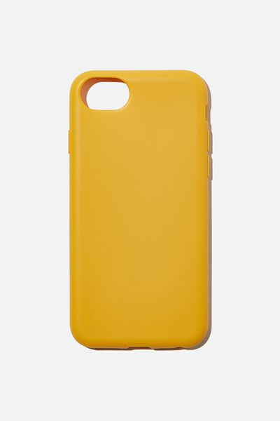 Recycled Phone Case iPhone 6, 7 ,8, SE, MUSTARD