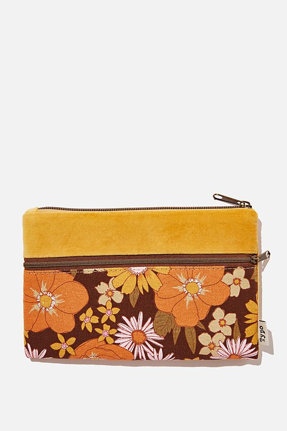 Archer Pencil Case, STEVIE FLORAL