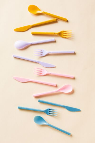 Cutlery Sets, PALE LILAC