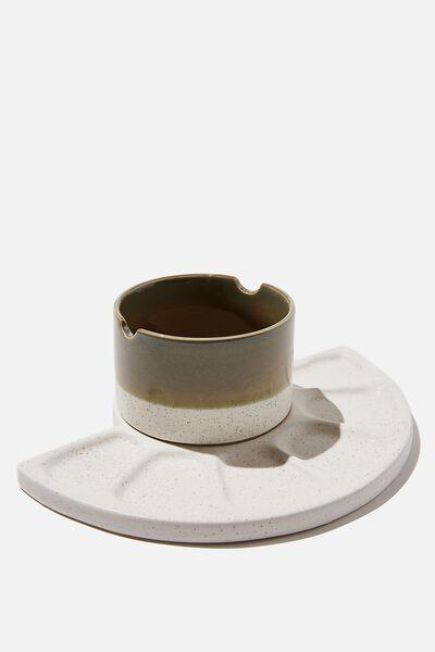 Ceramic Paint Palette Set, WELSH SLATE