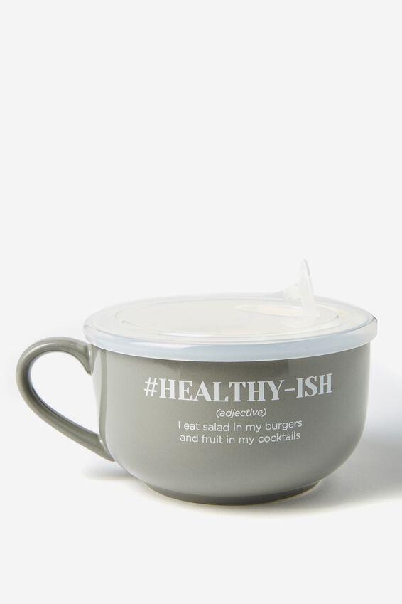 Big Mug Bowl, HEALTHY ISH