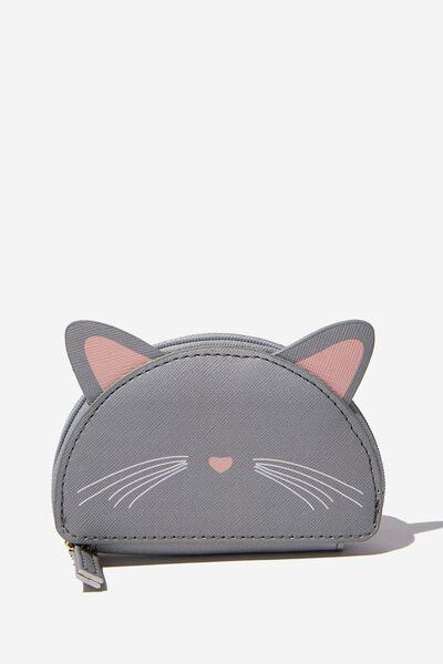 Novelty Coin Purse, CAT FACE