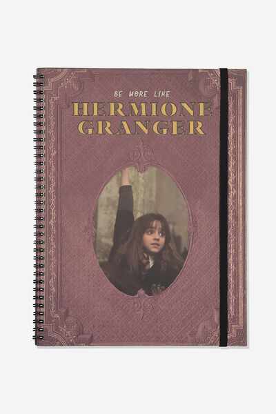 A4 Spinout Notebook - 120 Pages, LCN WB HP HERMIONE GRANGER