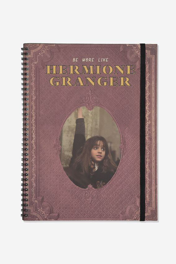 Harry Potter A4 Spinout Notebook - 120 Pages, LCN WB HP HERMIONE GRANGER