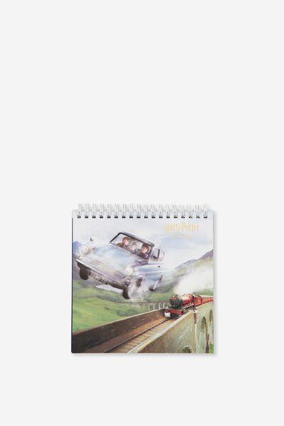 2019 Flip Desk Calendar, LCN HARRY POTTER