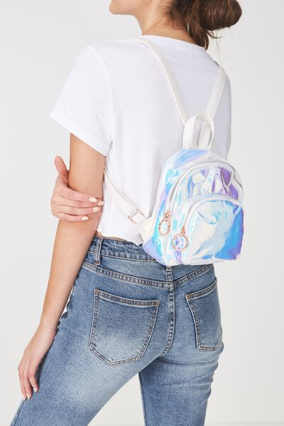Mini Madrid Backpack, IRIDESCENT