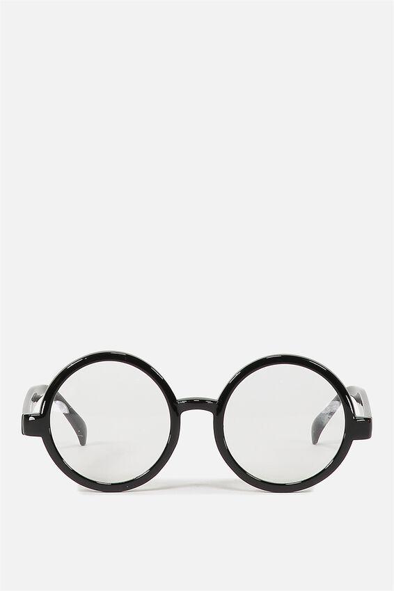 Novelty Glasses, BLACK ROUND