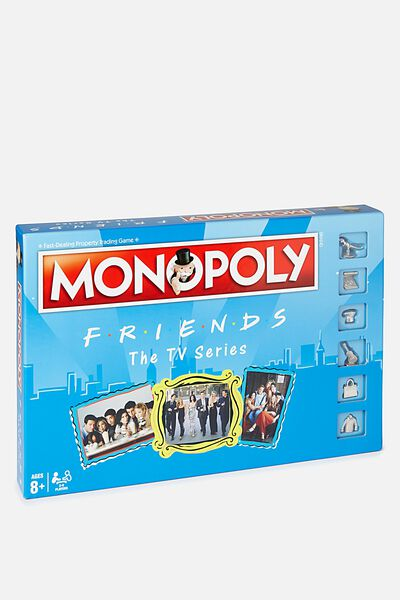 Monopoly Board Game, FRIENDS