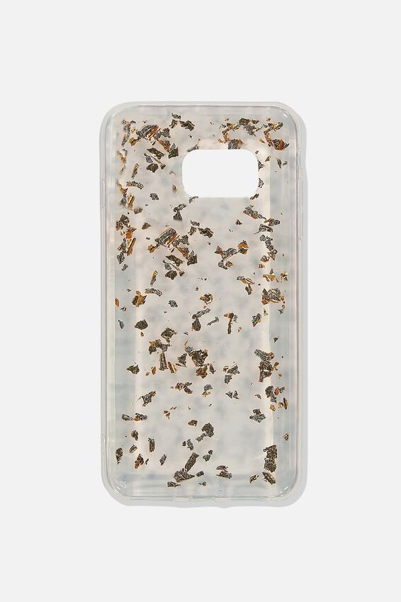 Phone Cover S7, ROSE GOLD FOILING