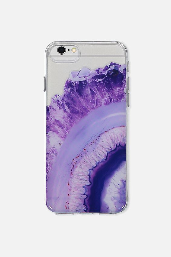 Printed Phone Cover Universal 6,7,8, PURPLE AGATE
