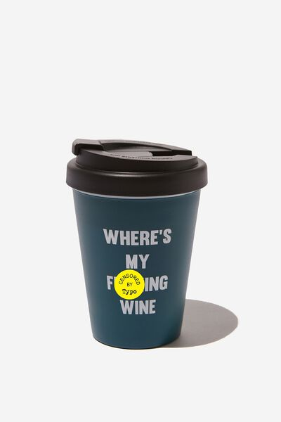 Take Me Away Mug, WHERE'S MY WINE!!