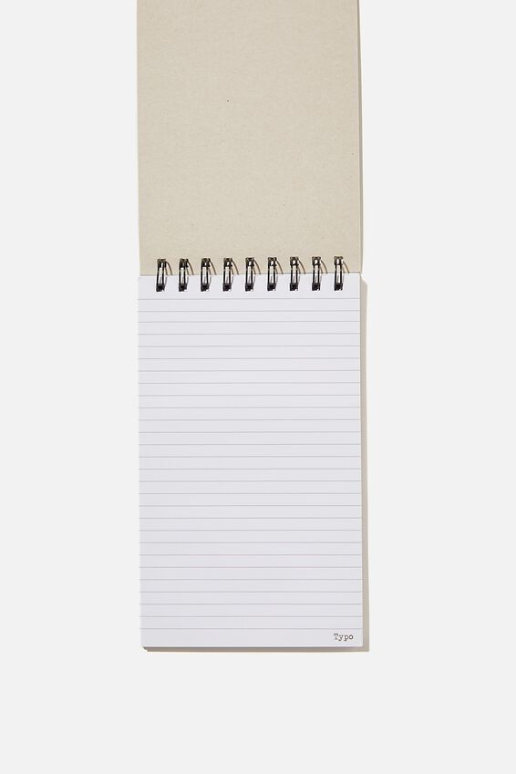 Flipout Notepad Recycled, MUSTARD NOTES