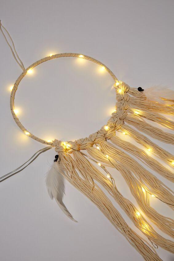 Light Up Dreamcatcher, WHITE