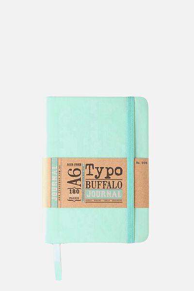 A6 Buffalo Journal, BLUE