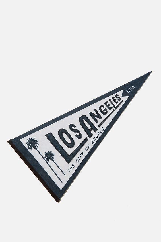 Pennant Wall Flag, LOS ANGELES