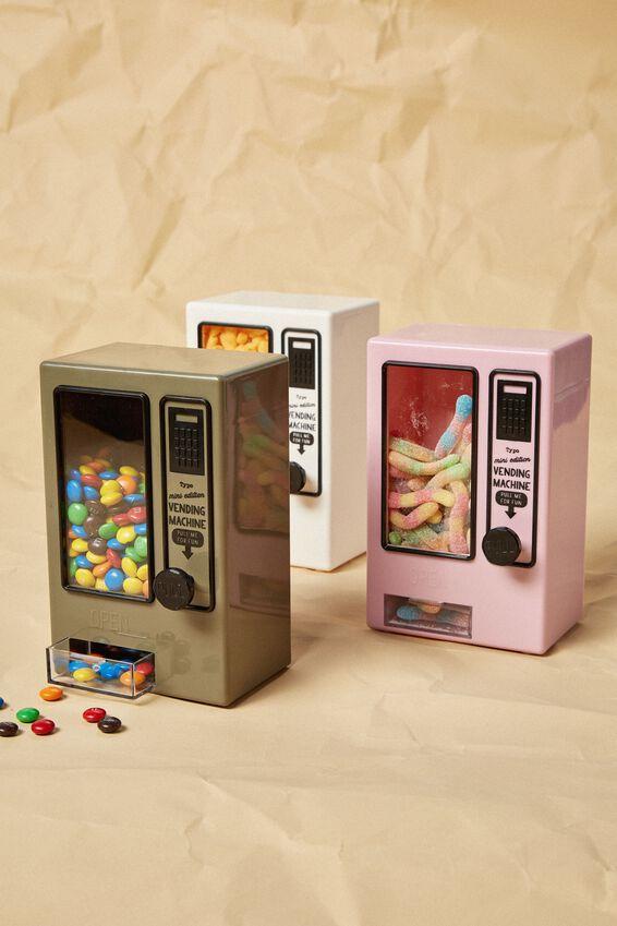 Mini Vending Machine, KHAKI