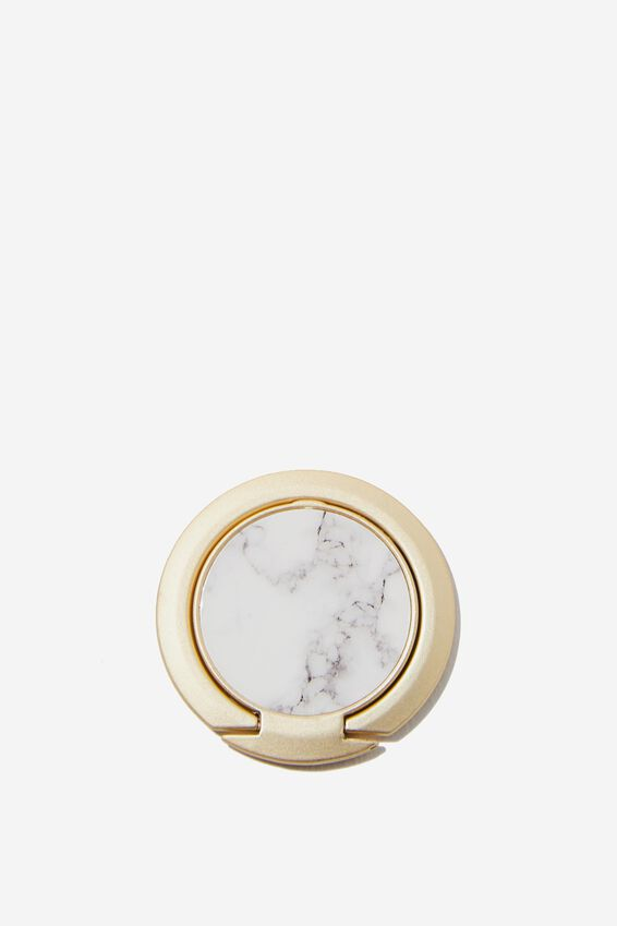 Ultra Thin Phone Ring, MARBLE