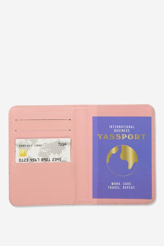Rfid Passport Holder, SUNSET SPECKLE