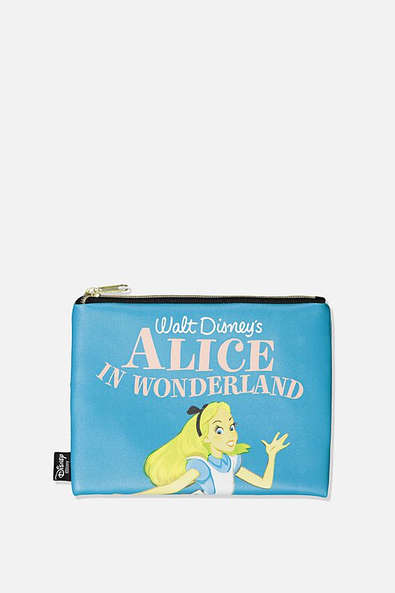 Disney PU Campus Pencil Case, LCN DIS CL ALICE