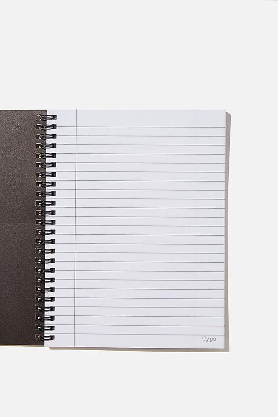 A5 Gudetama Spinout Notebook Recycled, LCN SAN GU EGG POSITIONS