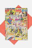 Marvel Christmas Card 2019, LCN MAR VELOUS