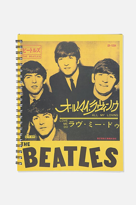 A4 The Beatles Campus Notebook Recycled, LCN APP THE BEATLES