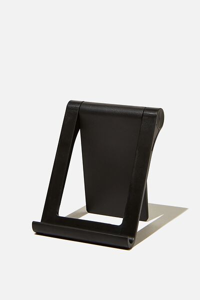 Collapsible Phone Stand, BLACK