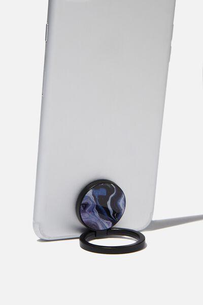 Metal Phone Ring, MOON MARBLE