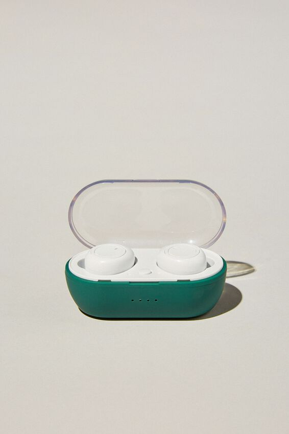 Wireless Earbuds, DEEP GREEN
