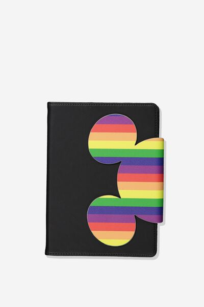 A5 Shaped Notebook, LCN DIS MICKEY PRIDE