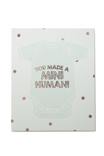 Baby Card, MINI HUMAN