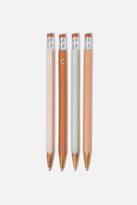 Pencil Pen Pack, FACES