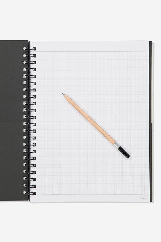 A4 Campus Notebook Grid Internal, WILDERNESS COLLAGE