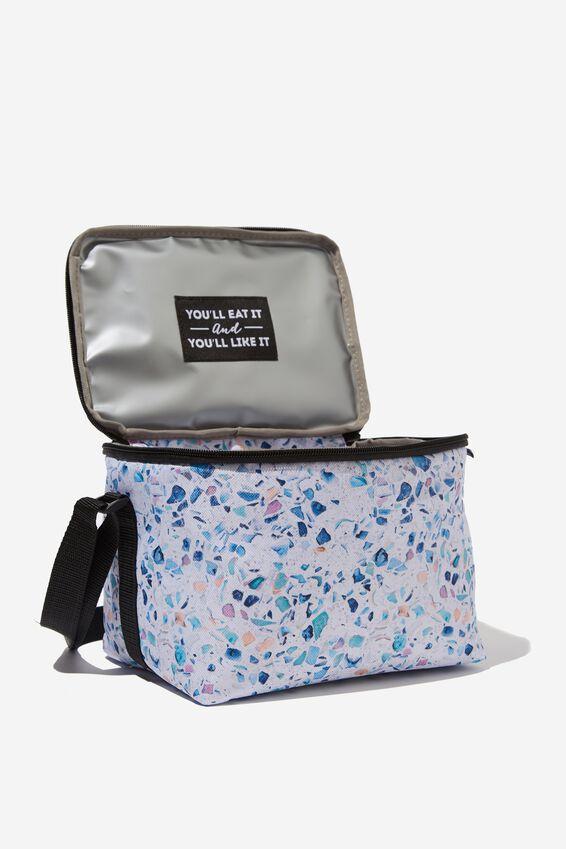 Cooler Lunch Bag, TERRAZZO