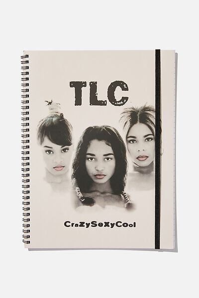 A4 Spinout Notebook Recycled, LCN TLC!