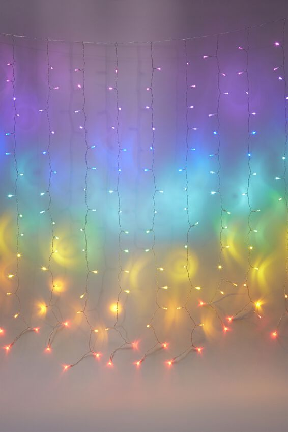 Cascading Lights, RAINBOW