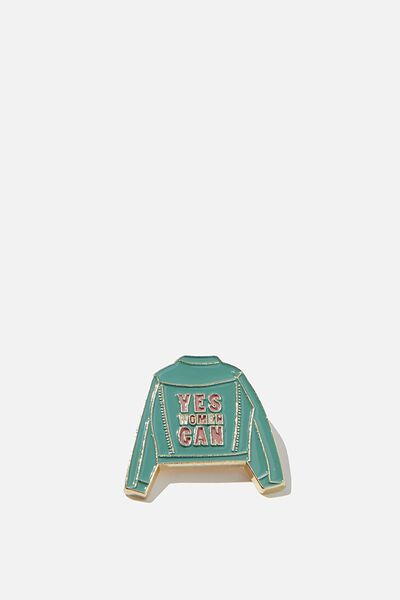 Enamel Badges, YES WOMEN CAN